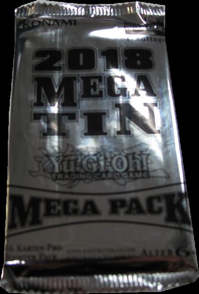 Yu-Gi-Oh! Mega Tin 2018 Booster deutsch