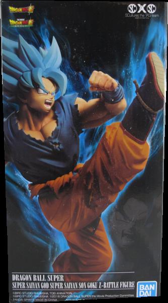 Action Figur Dragonball Super - Super Saiyan God Son Goku Z - Battle Figure