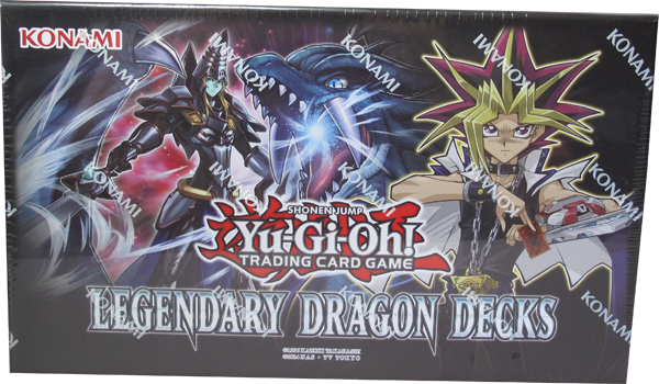 Yu-Gi-Oh! Legendary Dragon Decks