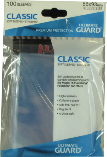 Ultimate Guard - Classic Softsleeves Standart - 100 Card Sleeves