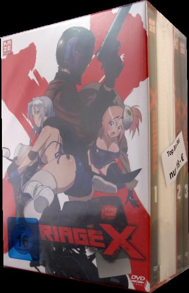 Triage X Set 1-3 DVD