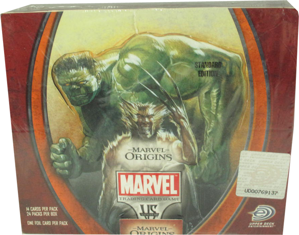 VS System Marvel Origins Booster Display englisch