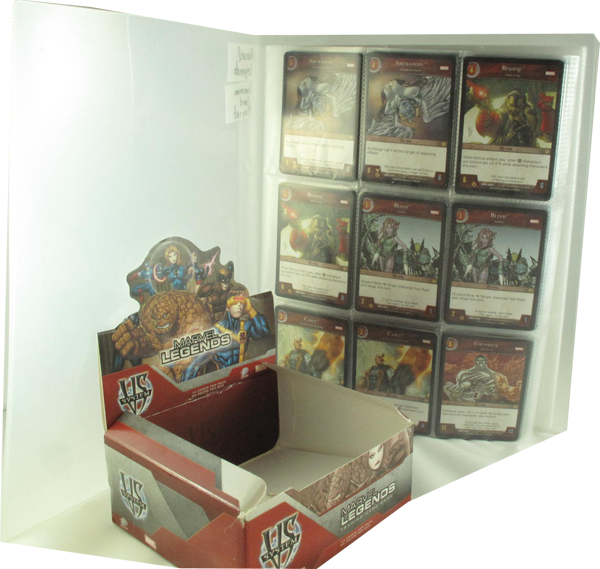 VS System - Marvel Legends Common Cards Playset englisch