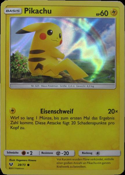 Pokemon Schimmernde Legenden Pikachu Holo deutsch