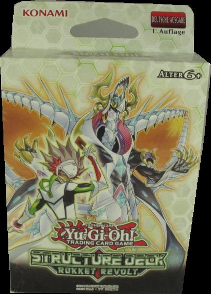 Yu-Gi-Oh! Rokket Revolt Structure Deck deutsch