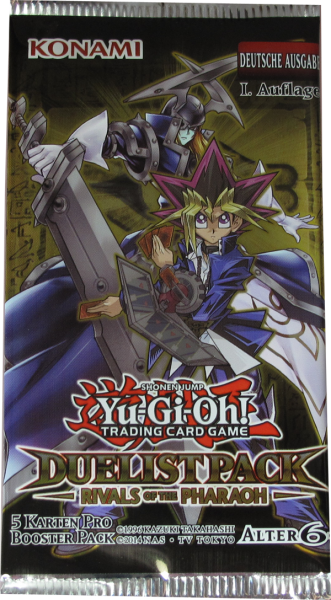 Yu-Gi-Oh! Duelist Pack: Rivals of the Pharaoh Booster deutsch