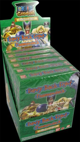 One Piece Davy Back Fight Starter Display