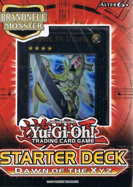 Yu-Gi-Oh! Dawn of the XYZ Starter Deck deutsch