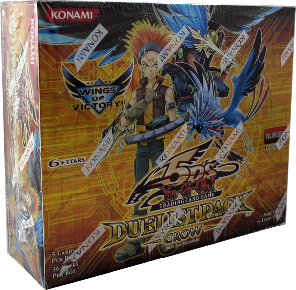 Yu-Gi-Oh! Duelist Pack Crow Booster Display 1st Edition englisch