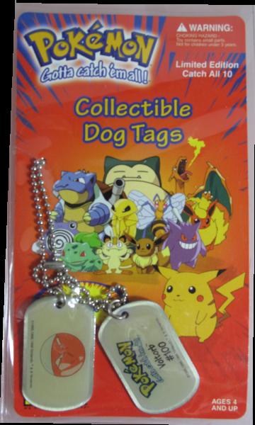 Pokemon Dog Tag Voltorb #100