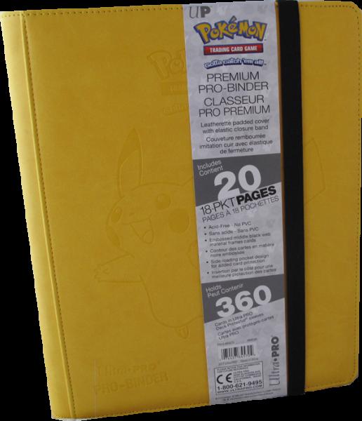 Ultra Pro Premium Pro-Binder 9-Pocket Portfolio - Pikachu