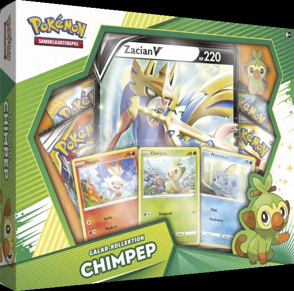 Pokemon Galar Kollektion Chimpep