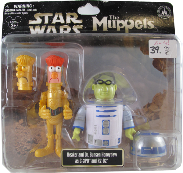 Action Figur Disney Star Wars The Muppets - Beaker and Dr.Bunsen Honeydew