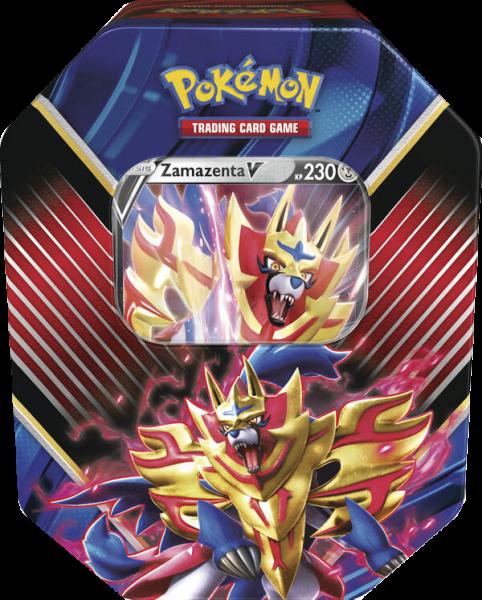Pokemon Zamazenta-V Tin Box deutsch