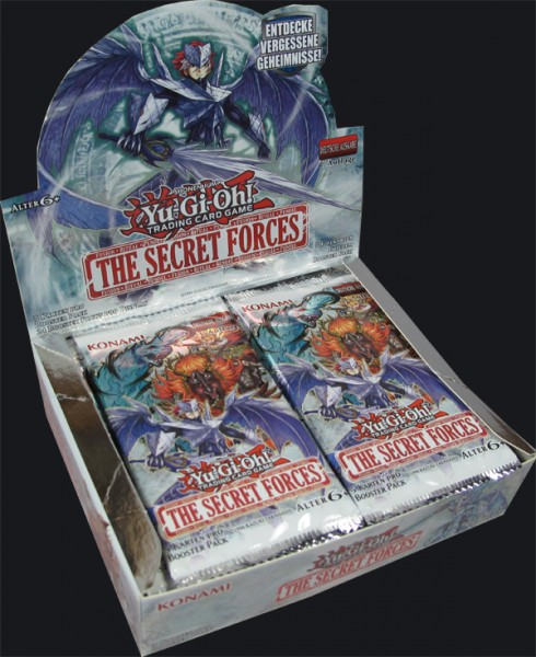 Yu-Gi-Oh! The Secret Forces Booster Display