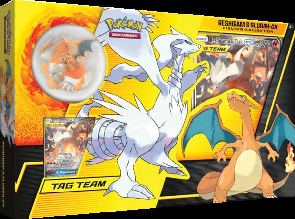 Pokemon Reshiram & Glurak GX Kollektion