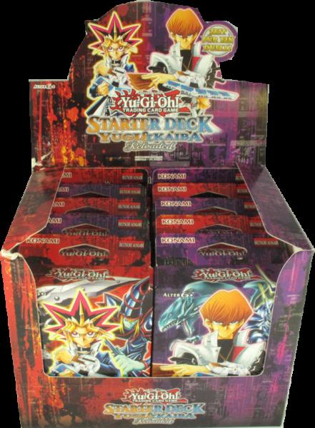 Yu-Gi-Oh! Starter Deck Kaiba Reloaded & Yugi Reloaded Display (Neuauflage) deutsch