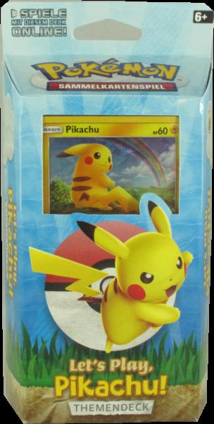 Pokemon Let's Play Pikachu Themendeck