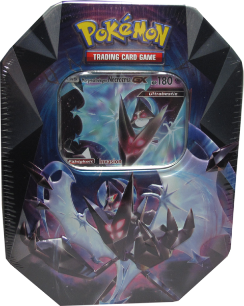 Pokemon Morgenschwingen-Necrozma GX Tin Box deutsch