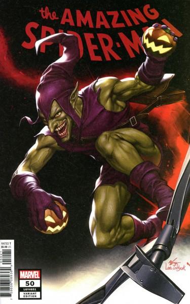 Amazing Spider-Man Vol 5 #50 Inhyuk Lee Variant Cover