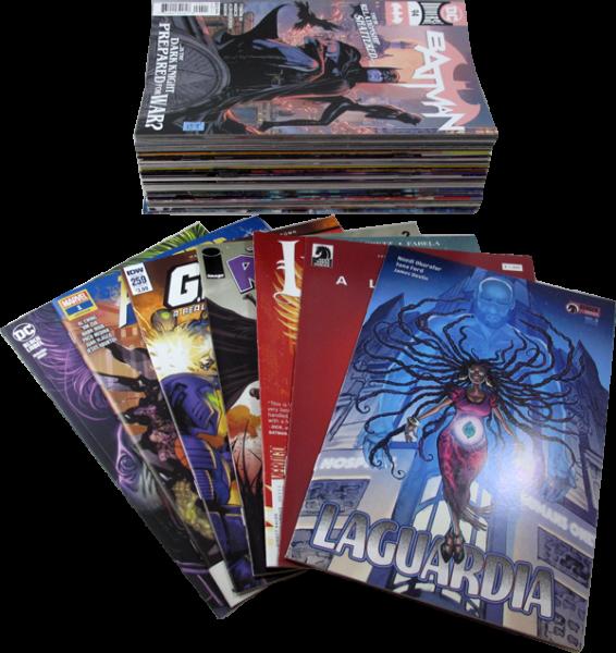 50 diverse US-Comics Pack