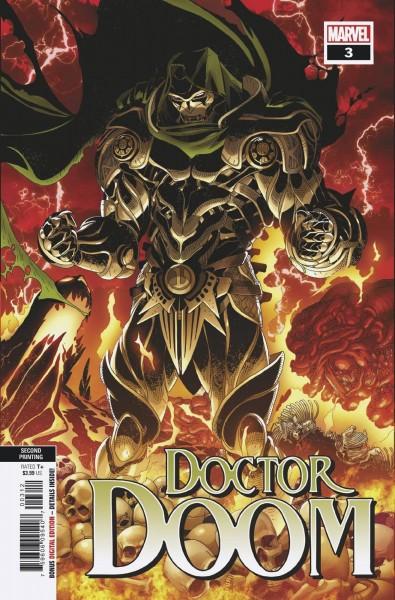 DOCTOR DOOM #3 2ND PTG VAR