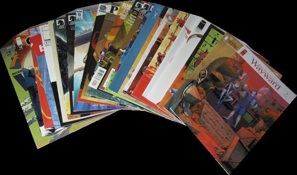 25er Set Diverse Comics