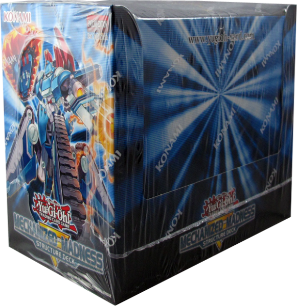 Yu-Gi-Oh! Mechanized Madness Structure Deck Display englisch