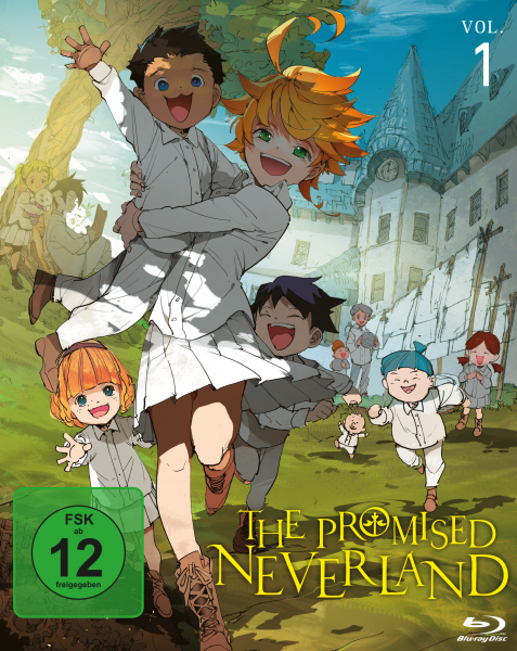 The Promised Neverland Vol. 01 Blu-ray