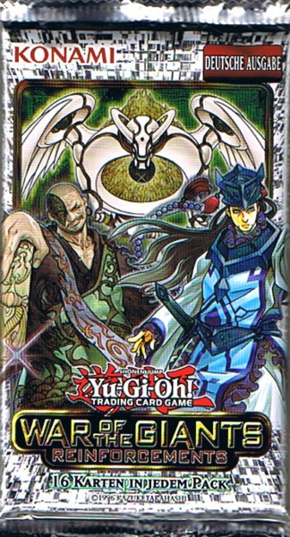 Yu-Gi-Oh! War of the Giants - Reinforcements - Booster deutsch