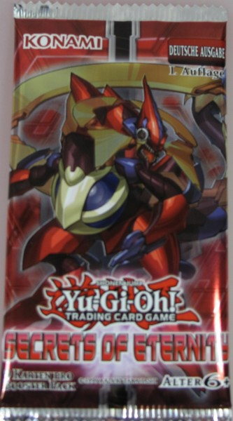 Yu-Gi-Oh! Secrets of Eternity Booster deutsch