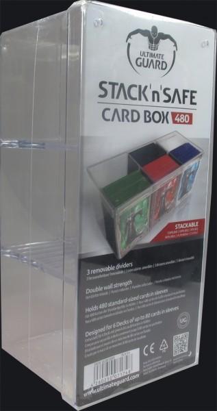 Ultimate Guard - Stack`n`Safe Card Box, 480 Stück