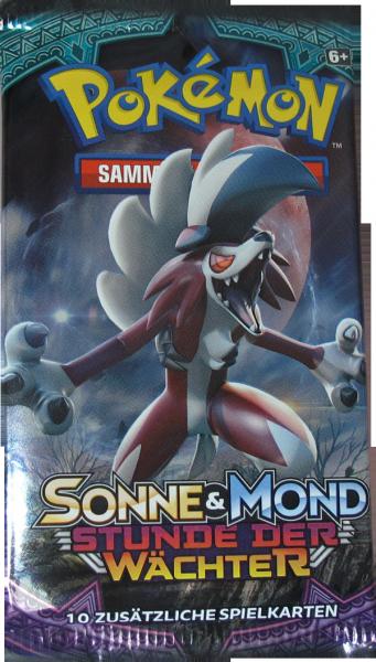 Pokemon Sonne & Mond Stunde der Wächter Booster