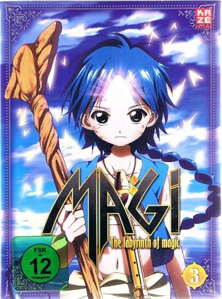Magi - The Labyrinth of Magic Vol. 03 Box
