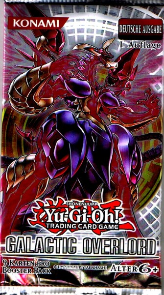 Yu-Gi-Oh! Galactic Overlord Booster deutsch