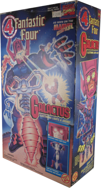 Action Figur Marvel Fantastic Four Galactus Electronic Lights & Sound