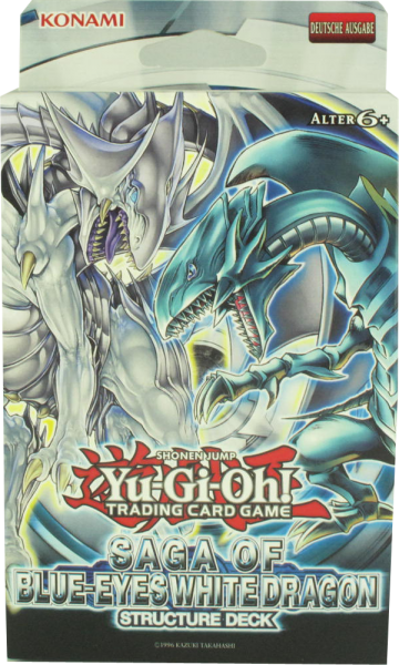 Yu-Gi-Oh! Saga of Blue-Eyes White Dragon Structure Deck deutsch