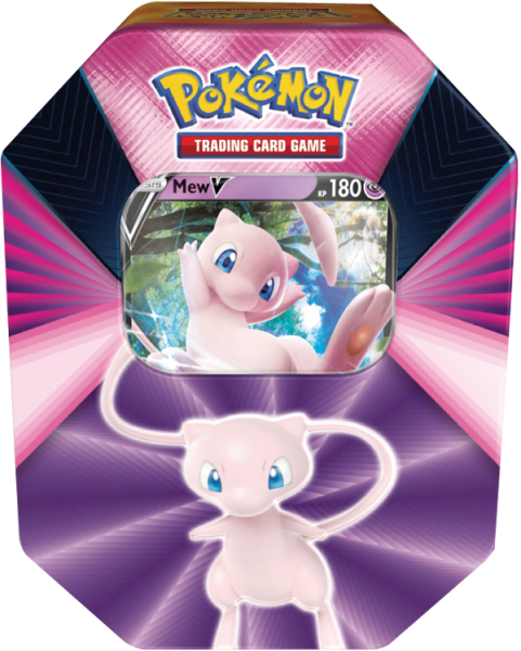 Pokemon Mew-V Tin Box deutsch