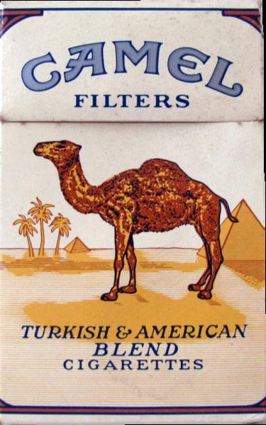 Sammlerstück Camel Zigarettenschachteln ca. 30 Jahre alt - Ohne Inhalt