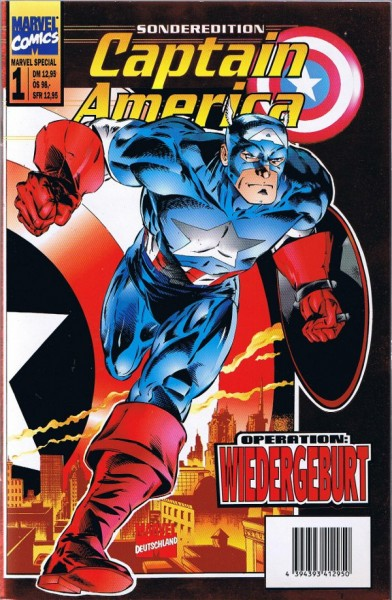 Marvel Special Band 1: Captain America Sonderedition