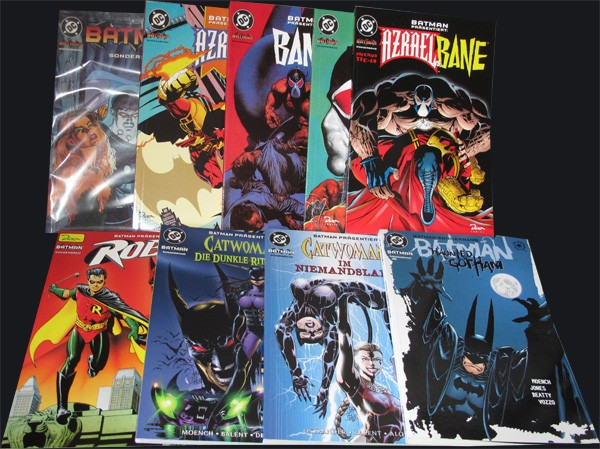 Batman Sonderband #1-9
