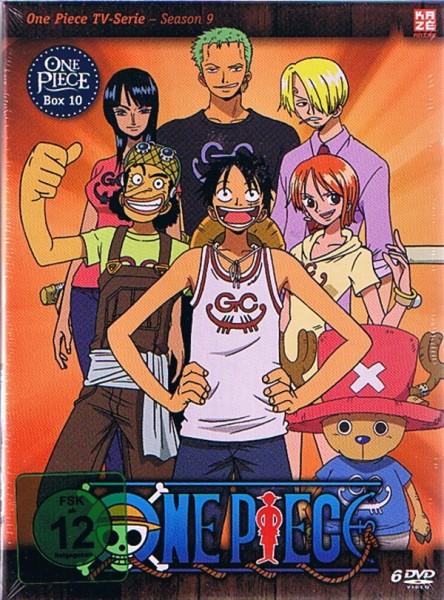 One Piece TV-Serie Vol. 10 Box