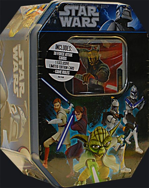 Star Wars Force Attax limitierte Tin Dose