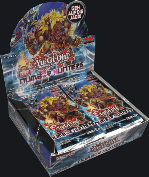 Yu-Gi-Oh! Number Hunter Booster Display