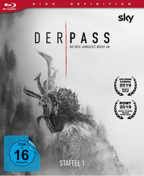 Der Pass 1. Staffel Blu-ray