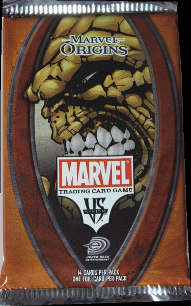 VS System Marvel Origins Booster englisch