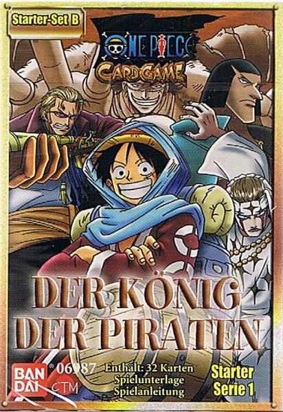 One Piece Der König der Piraten Starter Set B
