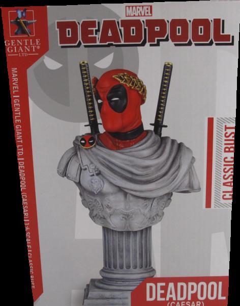 Action Figur Marvel Deadpool Ceasar Classic Bust