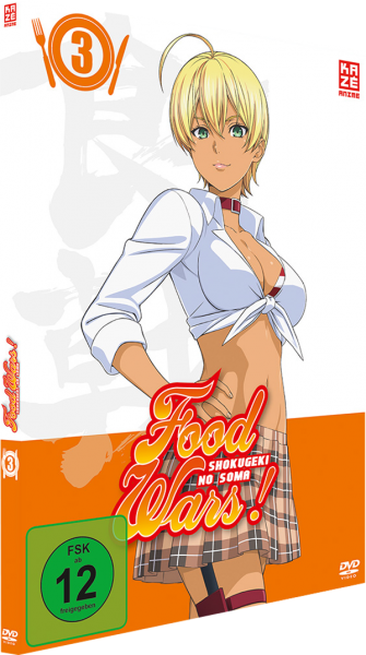 Food Wars! Shokugeki no Soma Vol. 03