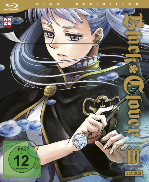 Black Clover Vol. 03 Blu-ray